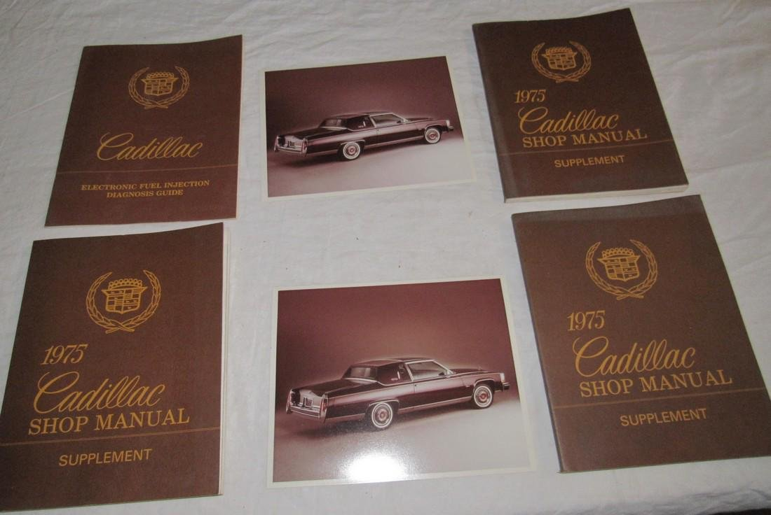 1975 Cadillac Shop Manuals & Photos