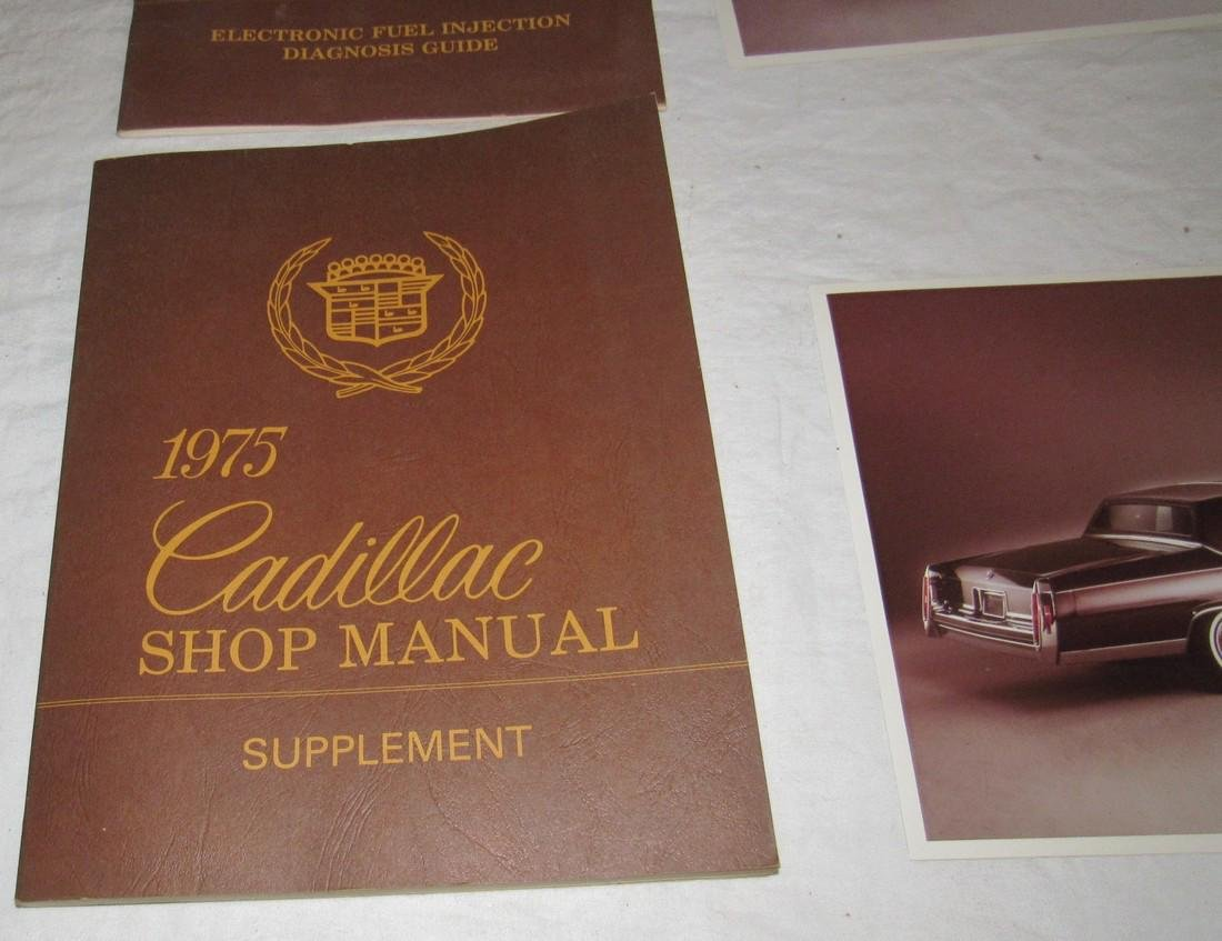 1975 Cadillac Shop Manuals & Photos - 3