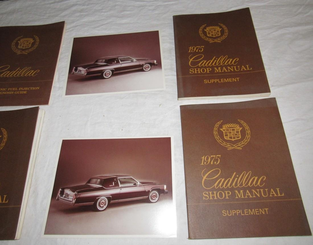 1975 Cadillac Shop Manuals & Photos - 4