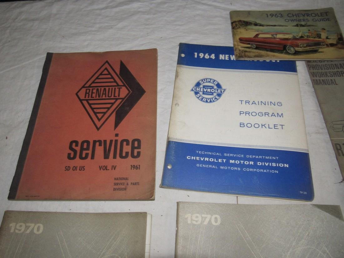 1965 Chevrolet Shop Manuals 1963 Chevy Owners Manual - 3