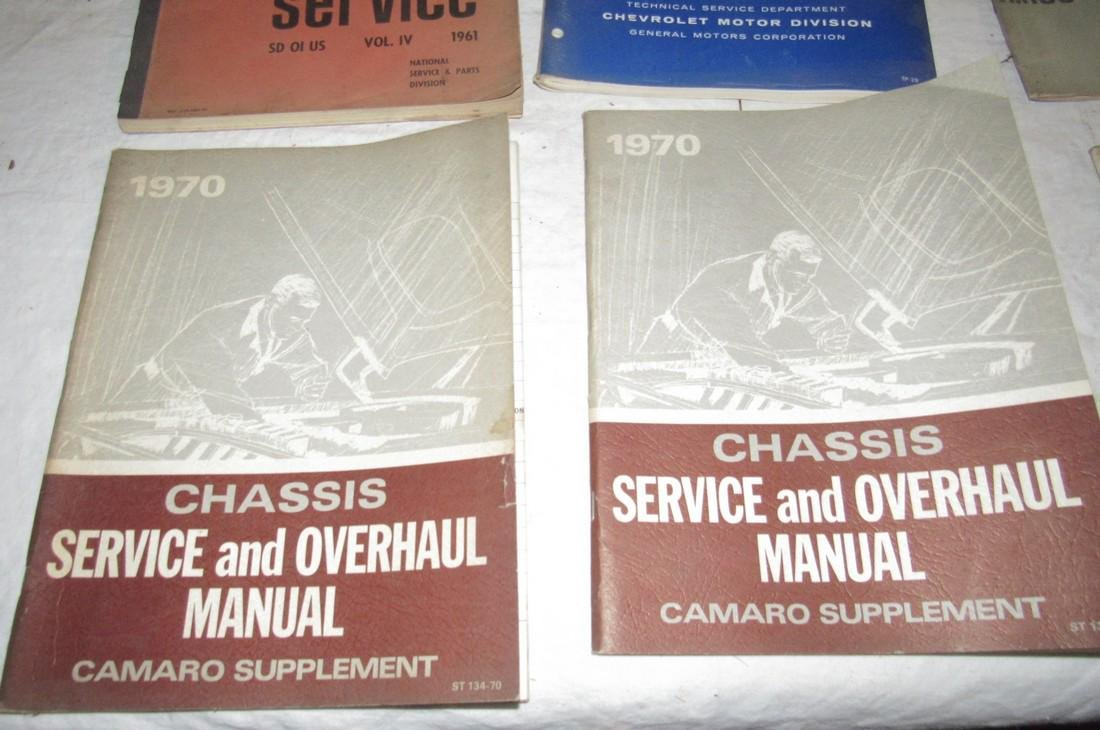 1965 Chevrolet Shop Manuals 1963 Chevy Owners Manual - 5