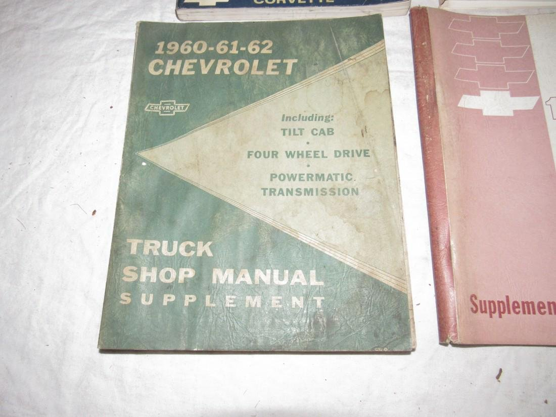 1967 Chevrolet Chasis 1964 Truck Shop Manuals - 2