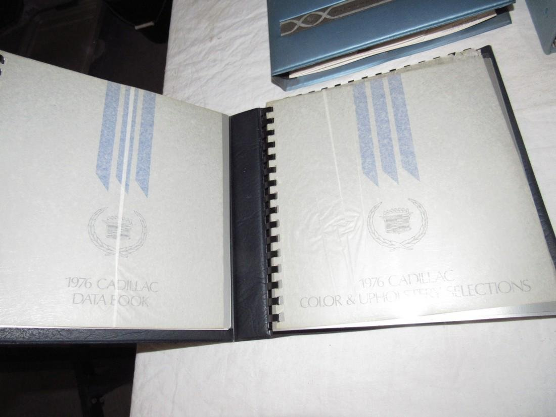 1970's Cadillac Salesmans Merchandising Guides Binders - 2
