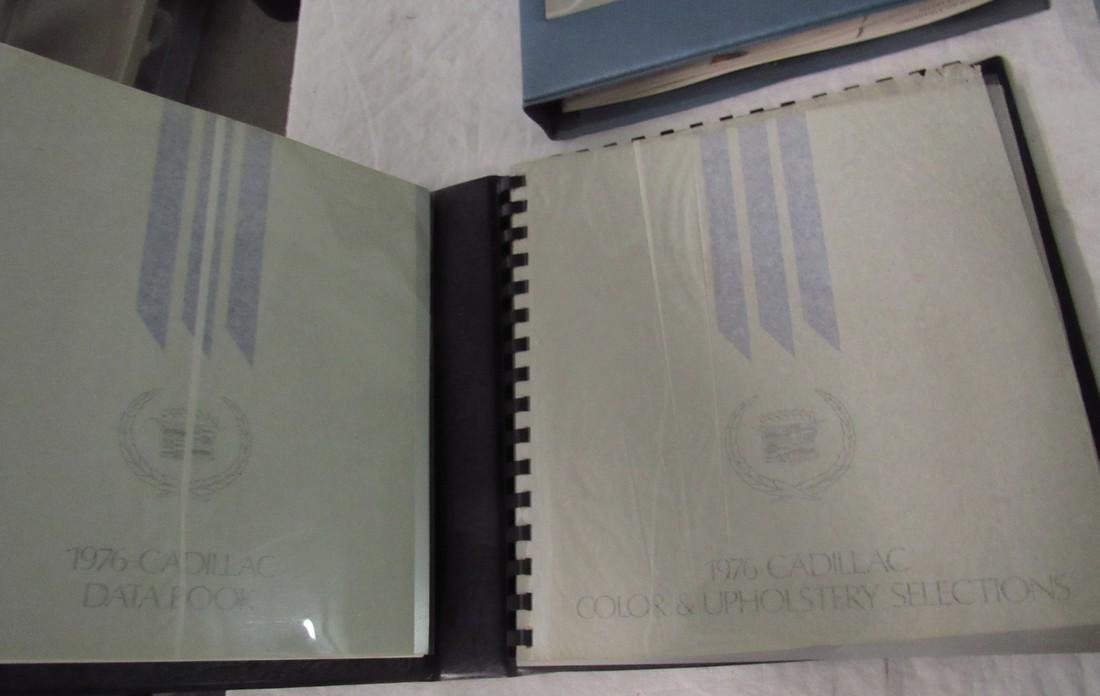 1970's Cadillac Salesmans Merchandising Guides Binders - 3