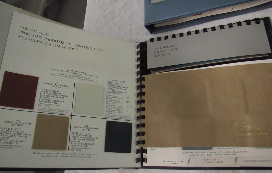 1970's Cadillac Salesmans Merchandising Guides Binders - 4