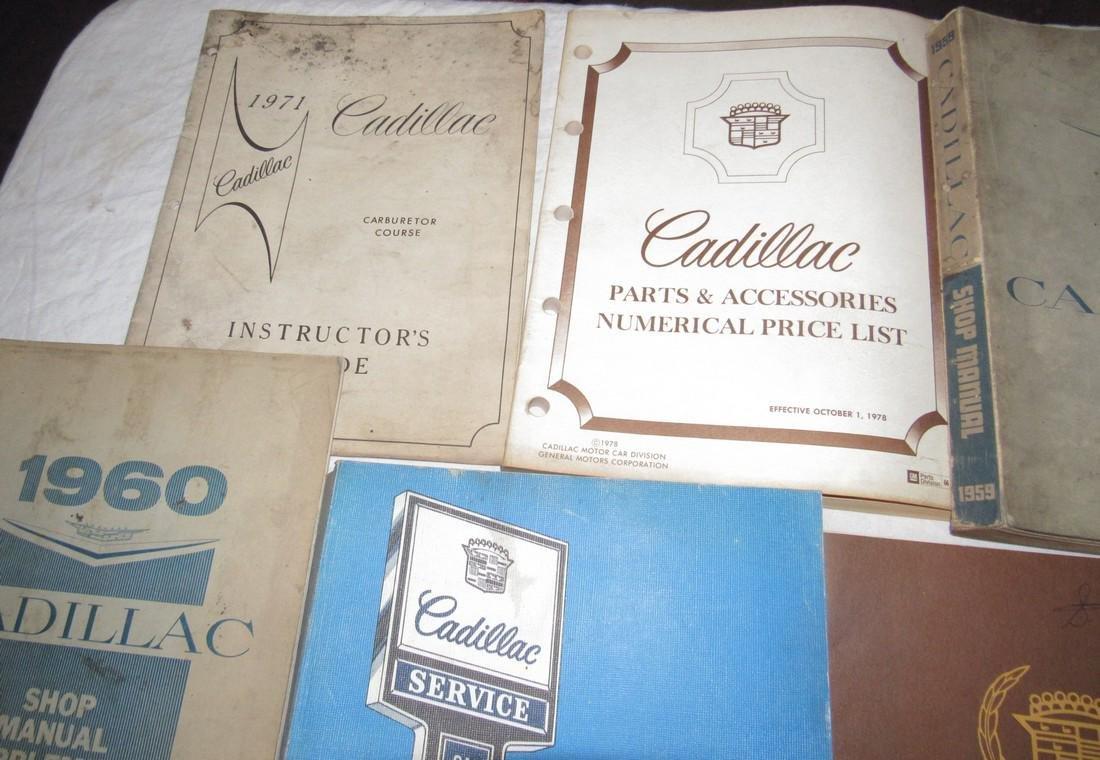 1950's - 80's Cadillac Shop Manuals - 2