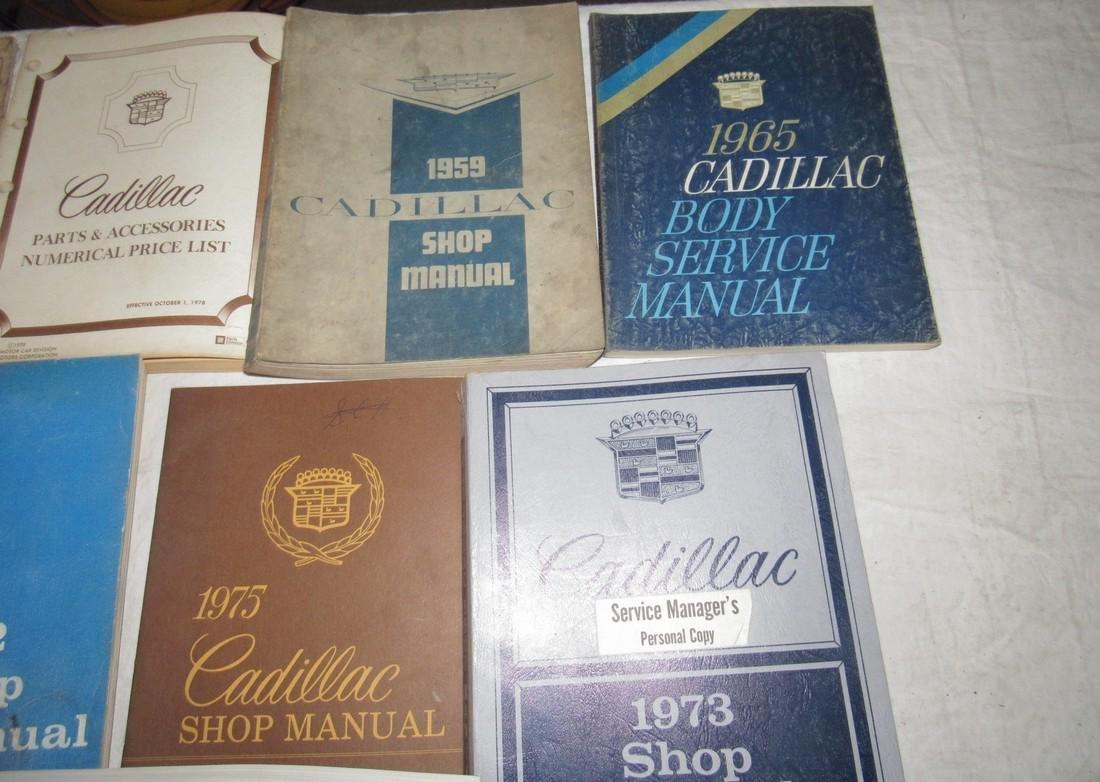 1950's - 80's Cadillac Shop Manuals - 3