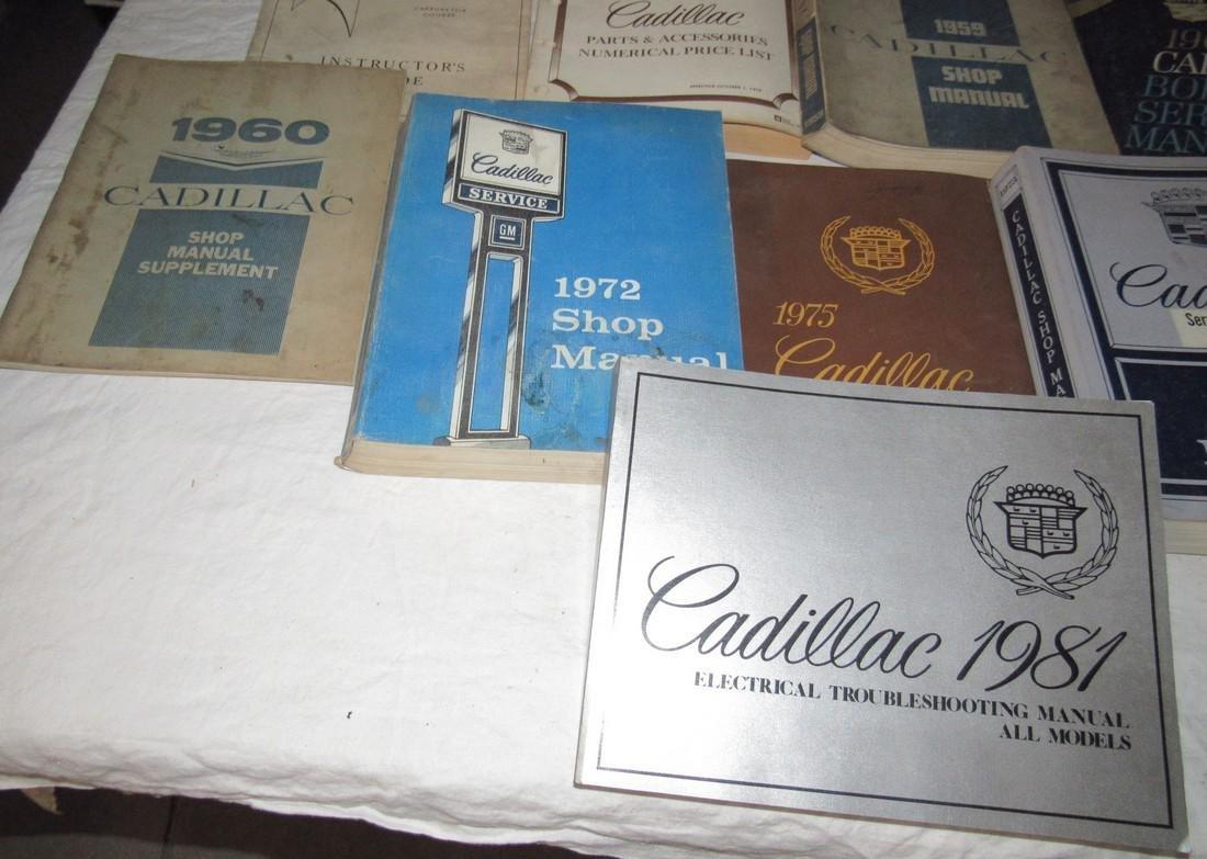 1950's - 80's Cadillac Shop Manuals - 5