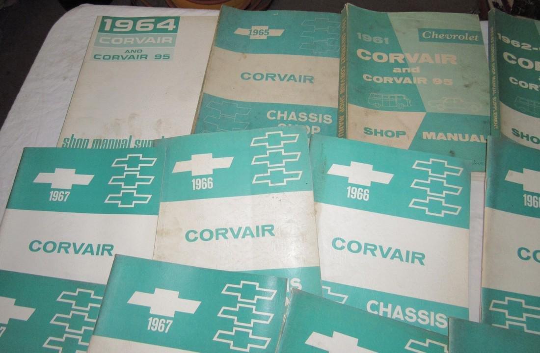 1960's Corvair Shop Manuals - 2