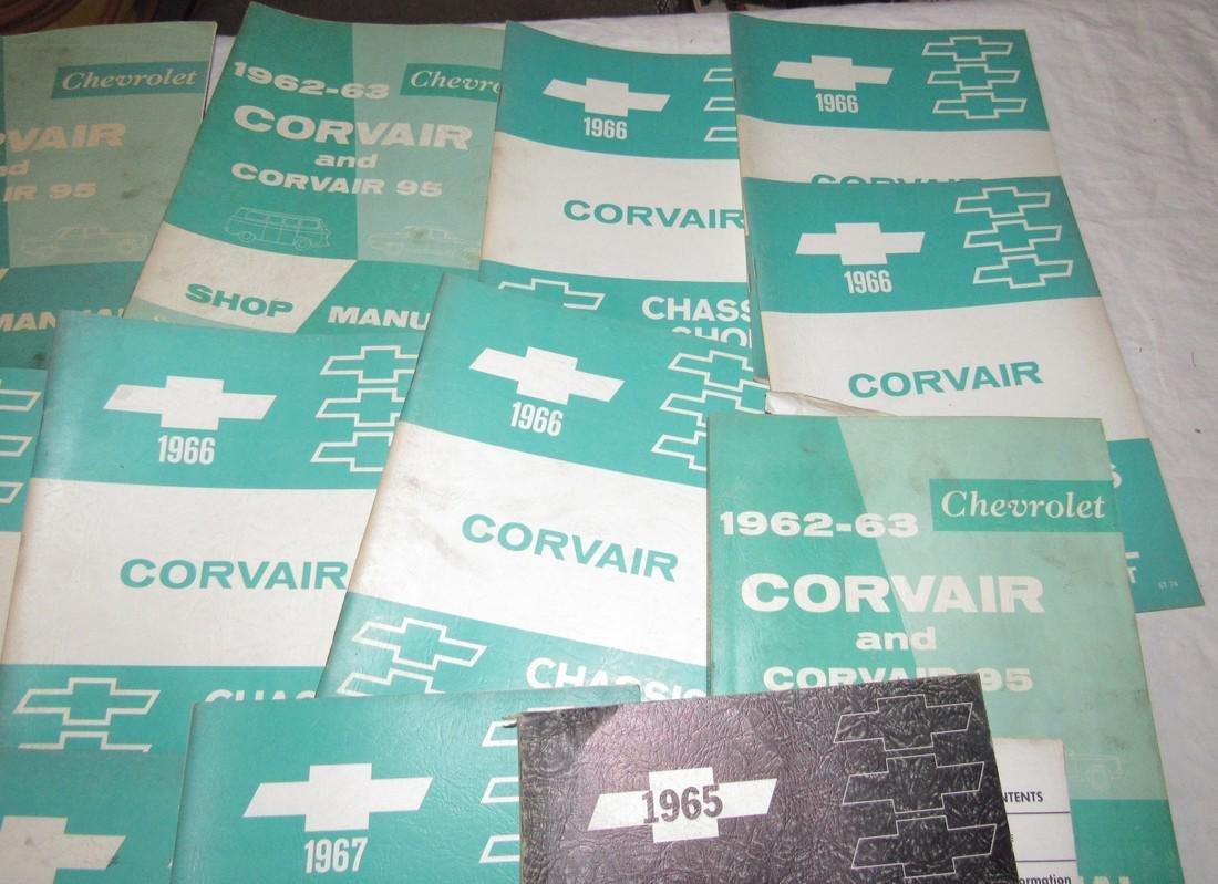 1960's Corvair Shop Manuals - 3