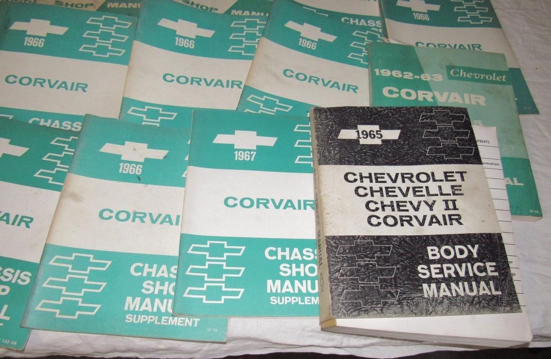 1960's Corvair Shop Manuals - 4