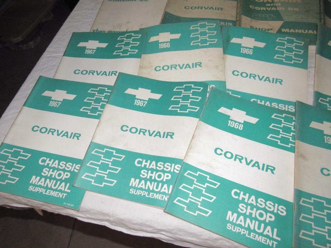 1960's Corvair Shop Manuals - 5
