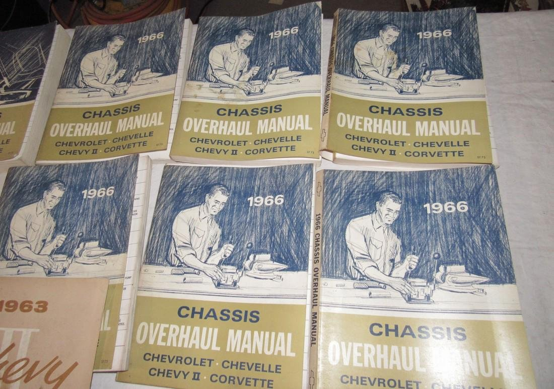 1963 & 1966 Chevrolet Shop Manuals - 2