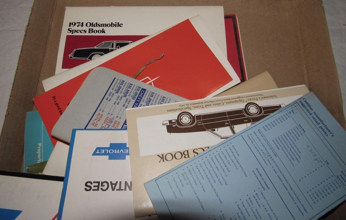 Misc Car Spec Books - 3