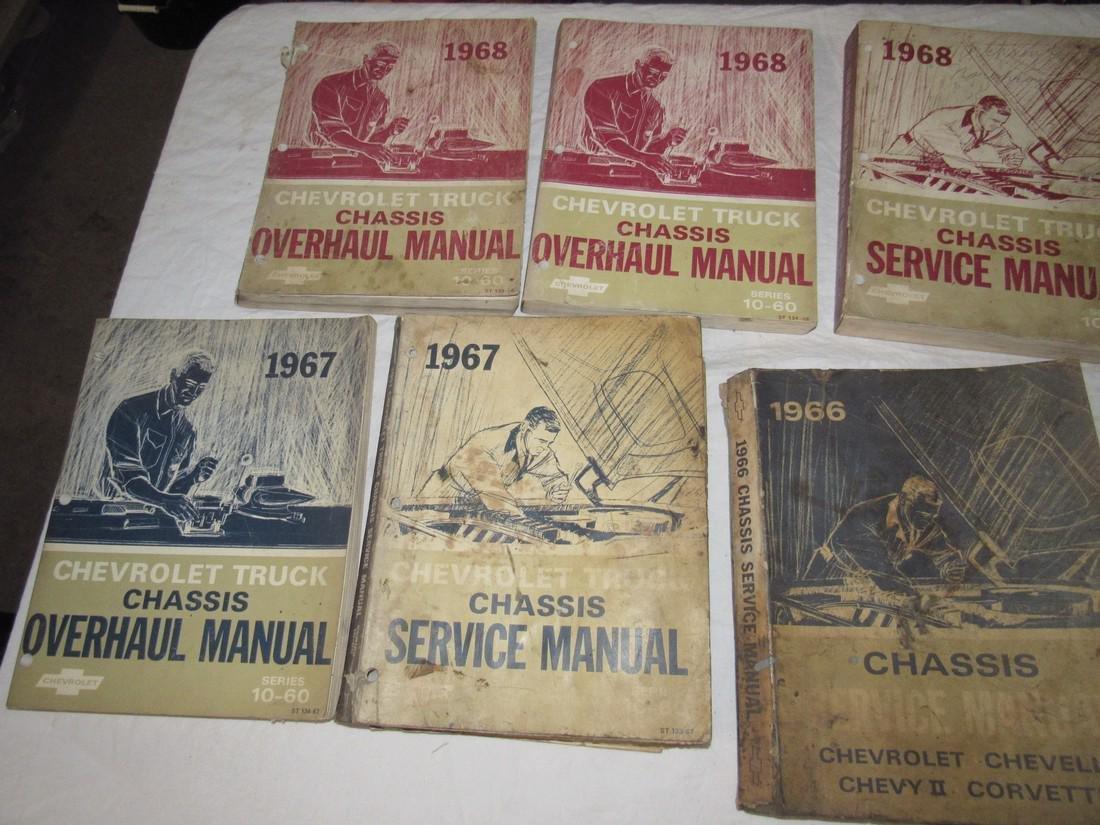 1960's Chevrolet Shop Manuals - 2