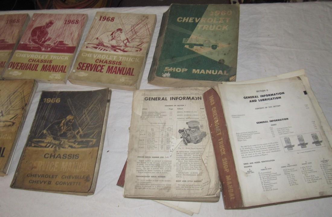 1960's Chevrolet Shop Manuals - 3
