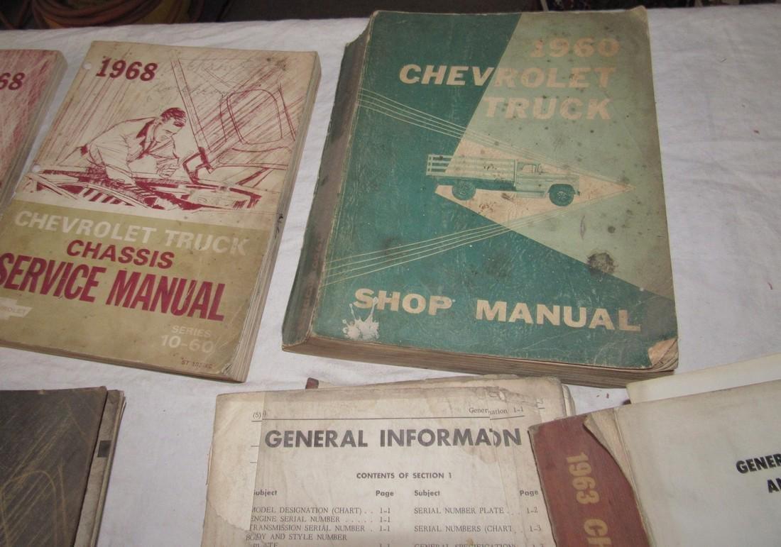 1960's Chevrolet Shop Manuals - 4