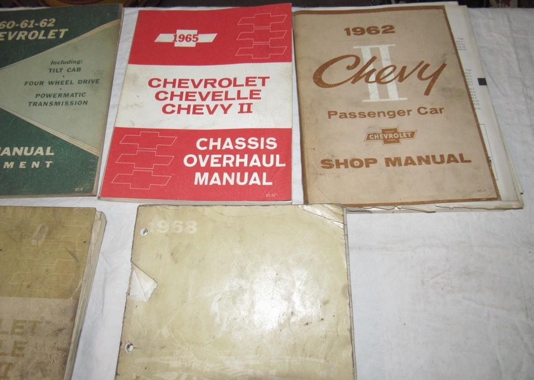 1960's Chevrolet Car Truck Service Shop Manuals - 3