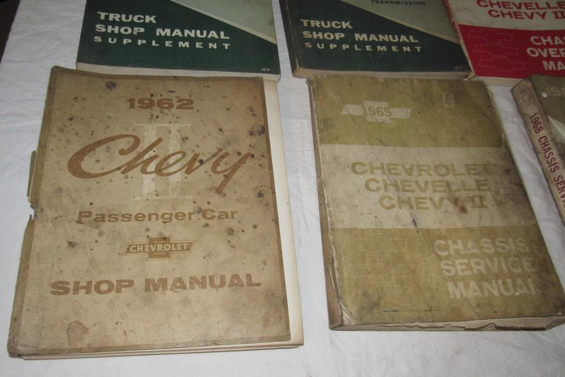 1960's Chevrolet Car Truck Service Shop Manuals - 5