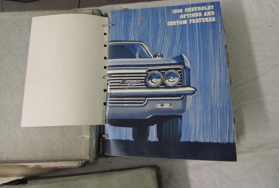 1960's Chevrolet Dealers Binders - 4