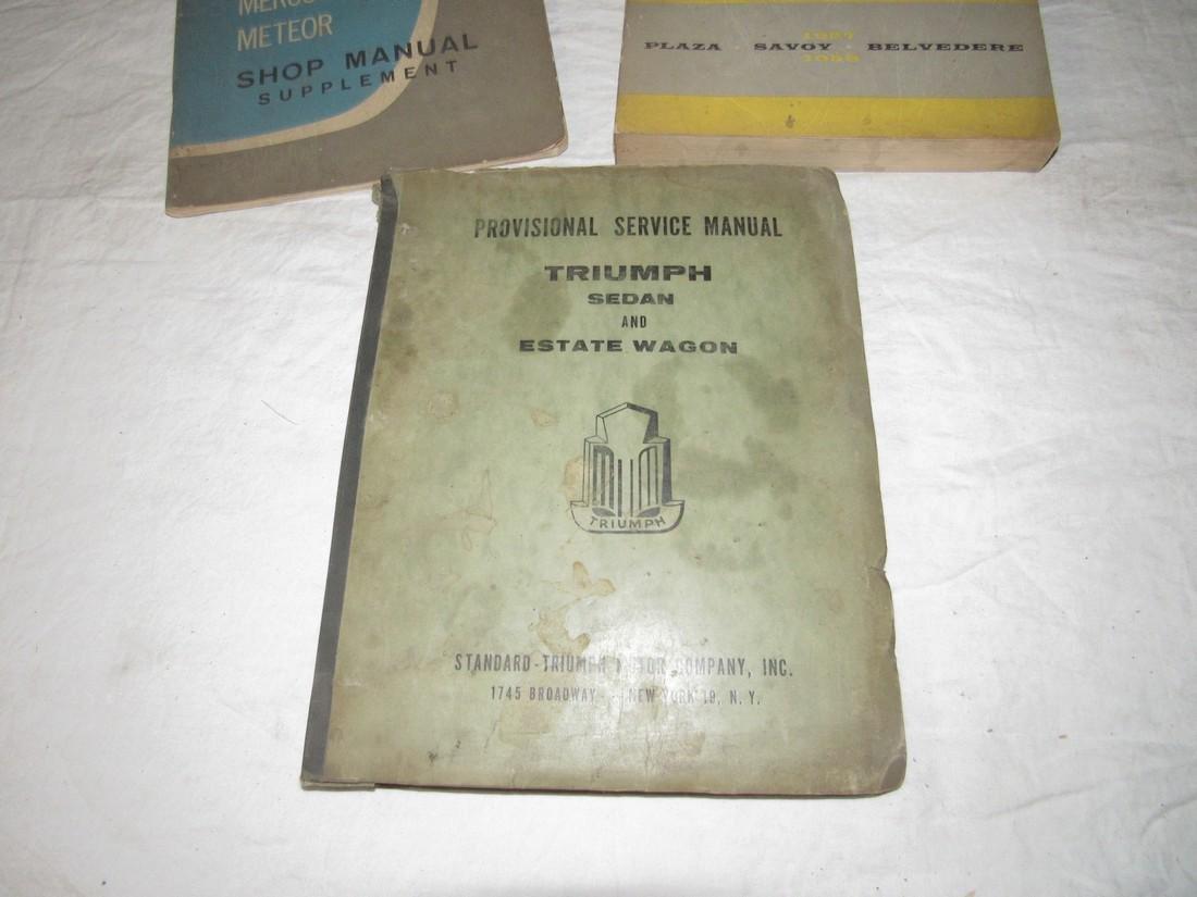 1963 Ford Fairlane Plymouth Triumph Sedan Shop Manual - 2