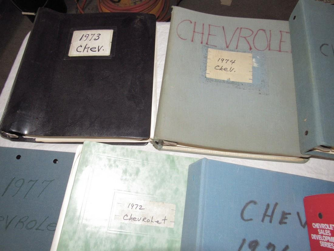 1970's & 80's Chevrolet Dealers Binders - 2