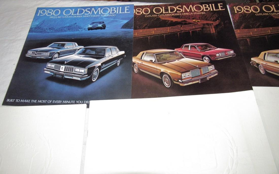 1970's & 80's Oldsmobile Cadillac Car Brochures - 2