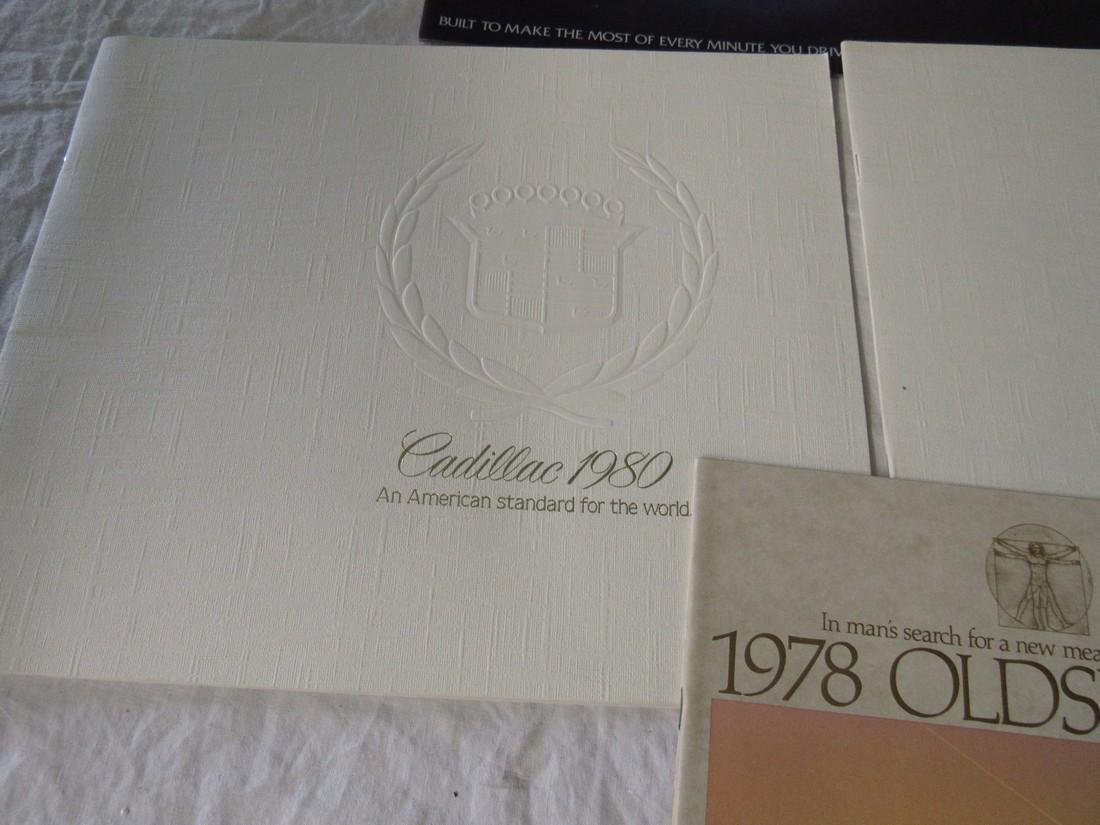 1970's & 80's Oldsmobile Cadillac Car Brochures - 5