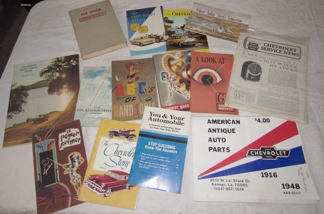 Chevrolet & Misc Car Literature Manuals