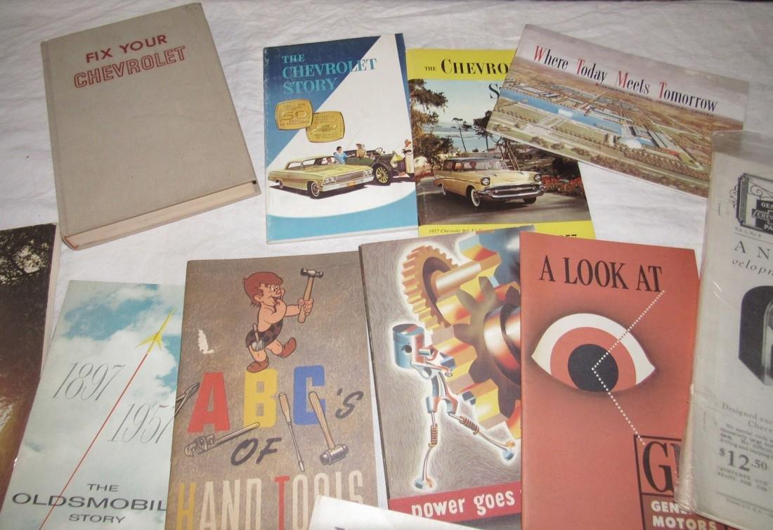 Chevrolet & Misc Car Literature Manuals - 2