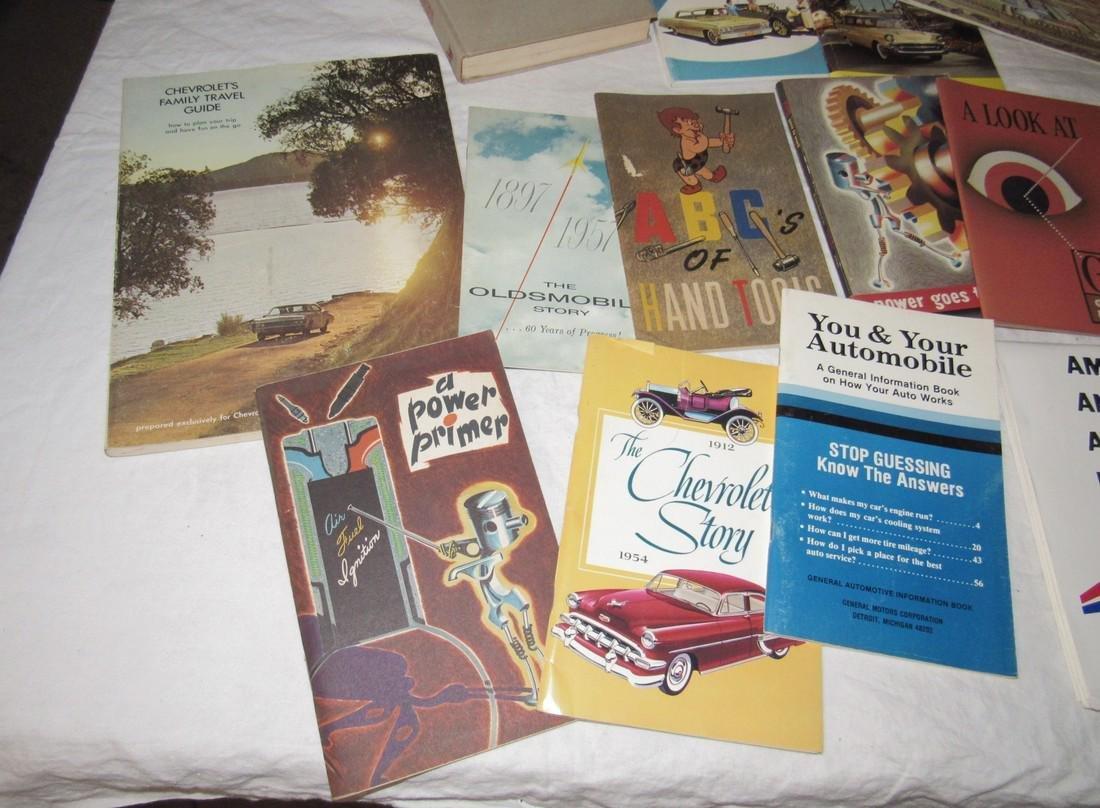 Chevrolet & Misc Car Literature Manuals - 3