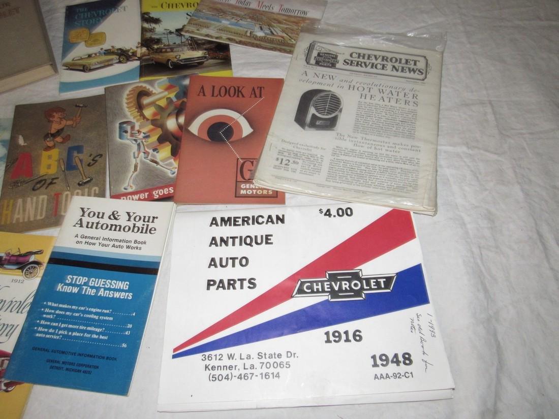 Chevrolet & Misc Car Literature Manuals - 4