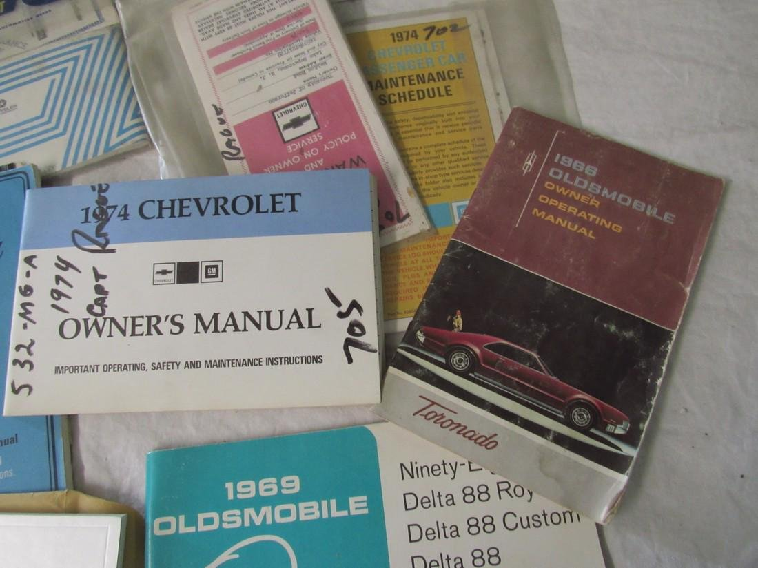 Chevrolet Oldsmobile Plymouth Malibu Owners Manuals - 4
