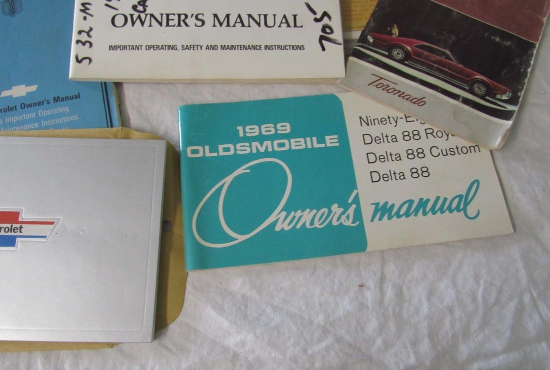 Chevrolet Oldsmobile Plymouth Malibu Owners Manuals - 5