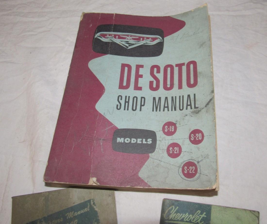 1949 1953 Chevrolet Trucks Owners Desoto Shop Manual - 2