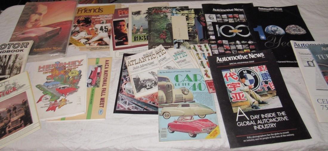 Car Magazines & Literature