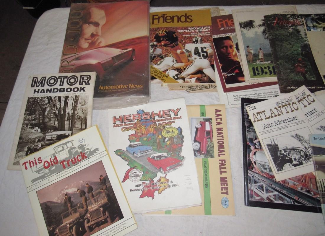Car Magazines & Literature - 2