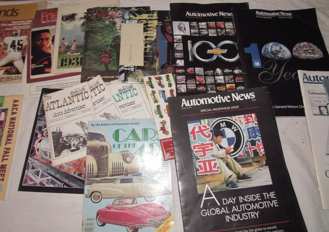 Car Magazines & Literature - 3