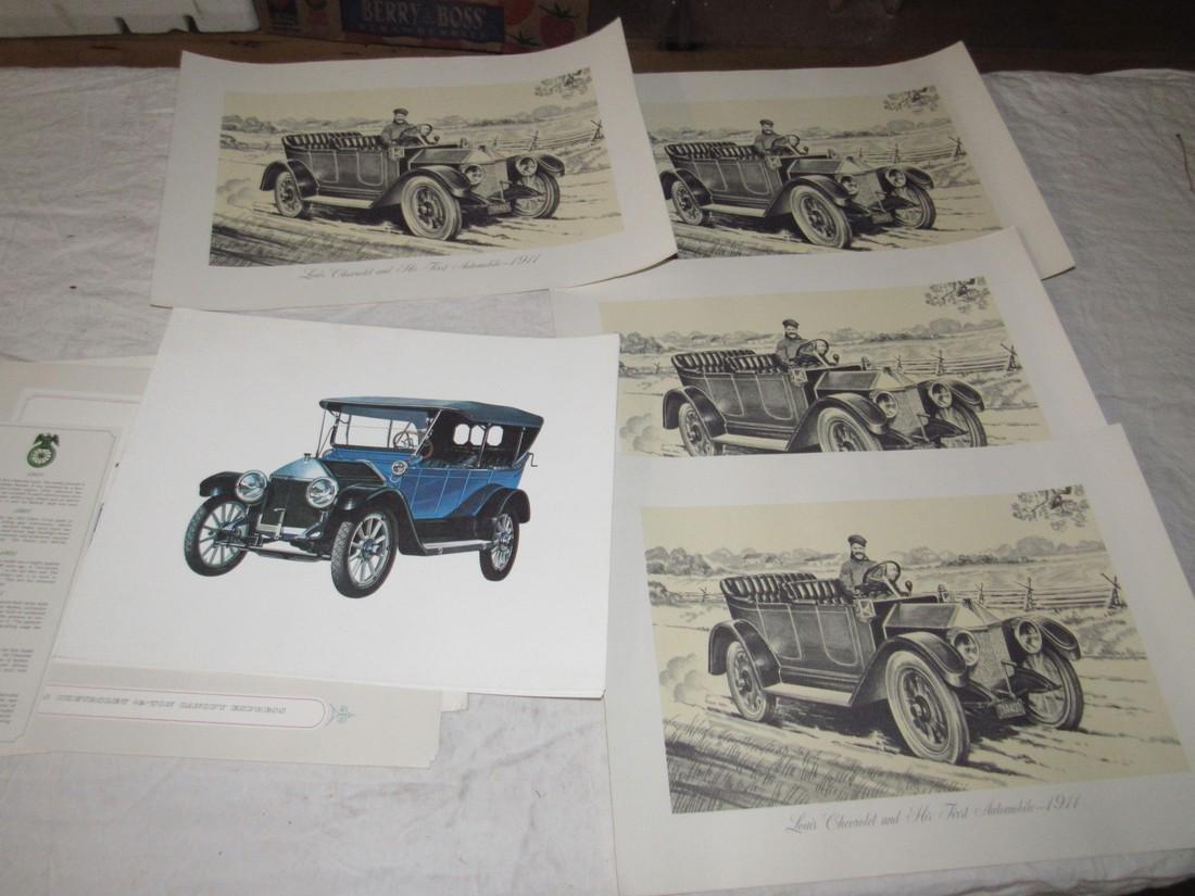 Car Posters Calendars & Literature - 10