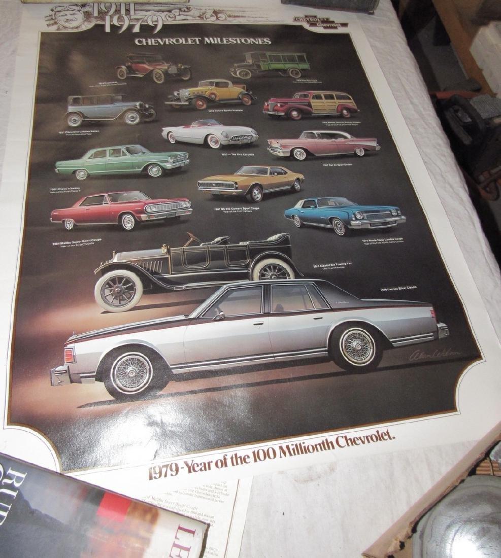 Car Posters Calendars & Literature - 2