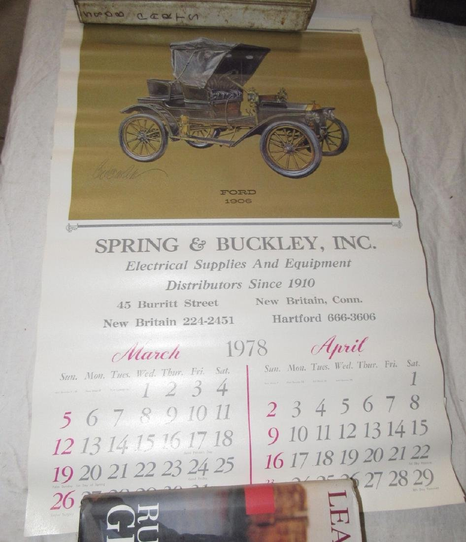 Car Posters Calendars & Literature - 3