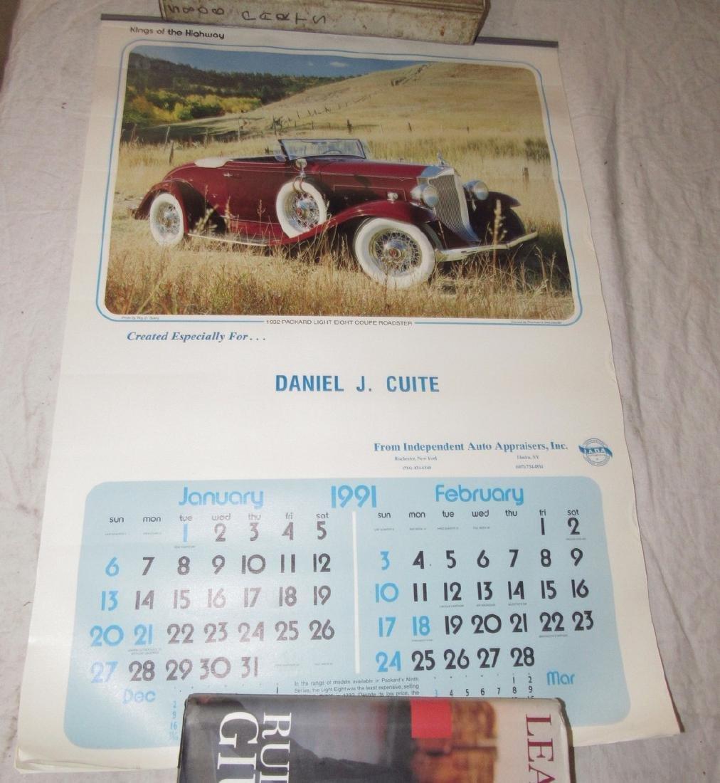 Car Posters Calendars & Literature - 4