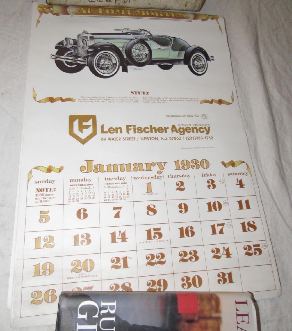 Car Posters Calendars & Literature - 5
