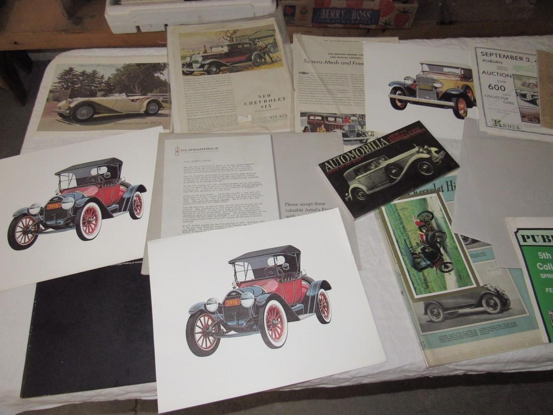 Car Posters Calendars & Literature - 7