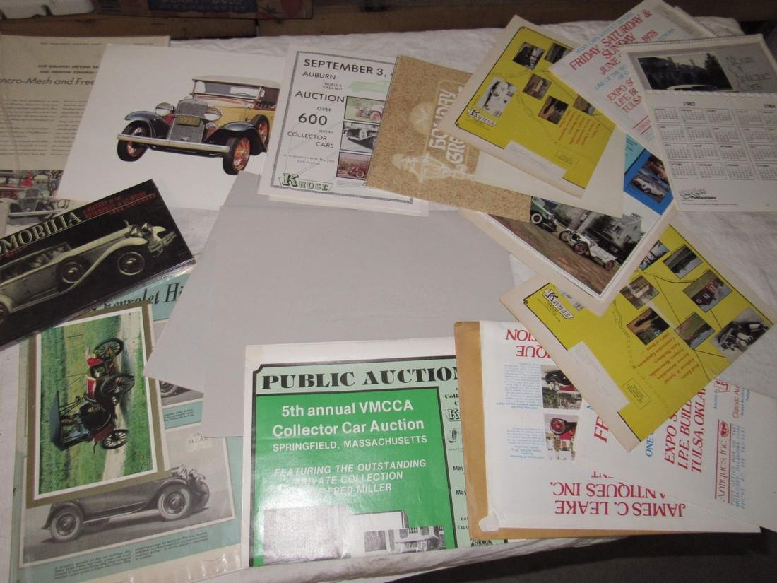 Car Posters Calendars & Literature - 8