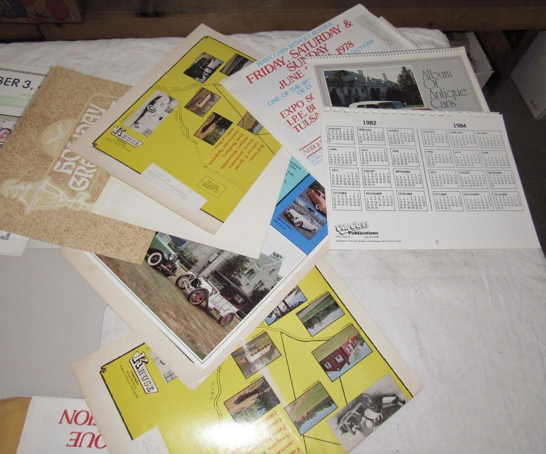 Car Posters Calendars & Literature - 9