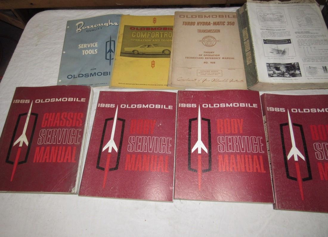 1960's Oldsmobile Service Manuals