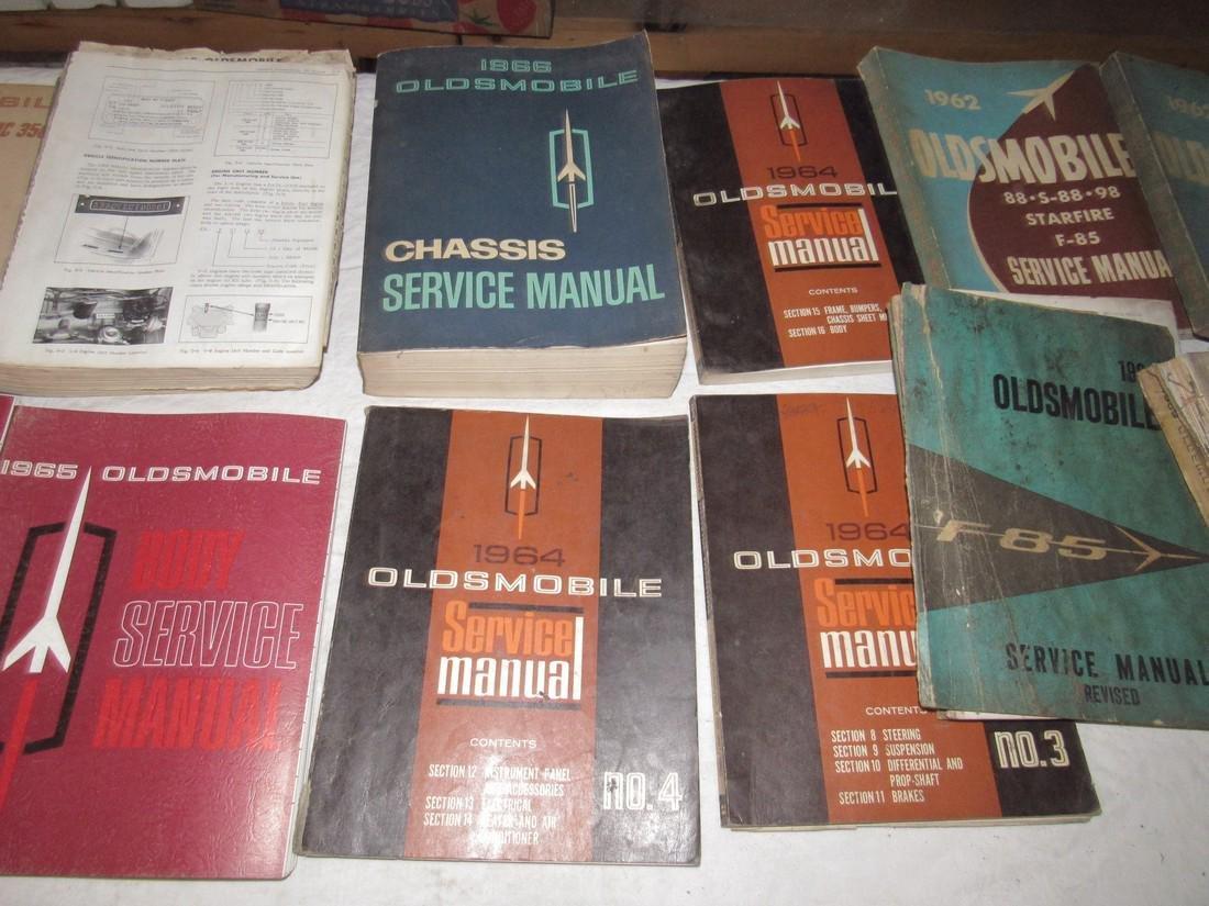 1960's Oldsmobile Service Manuals - 2