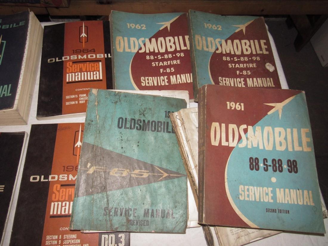 1960's Oldsmobile Service Manuals - 3