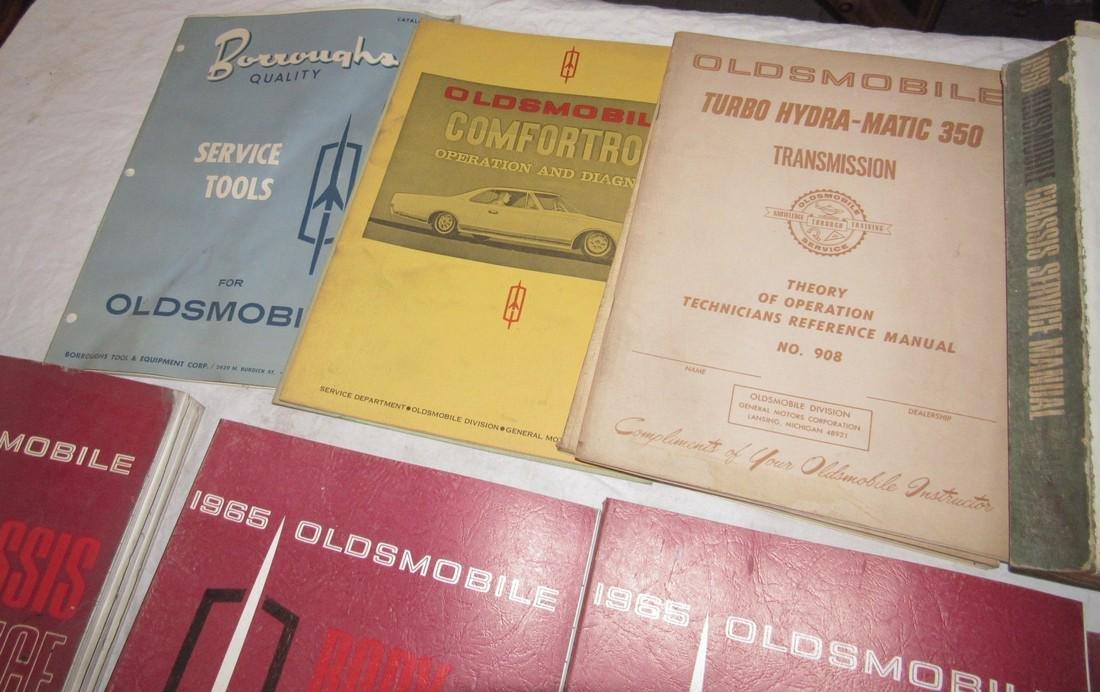 1960's Oldsmobile Service Manuals - 4